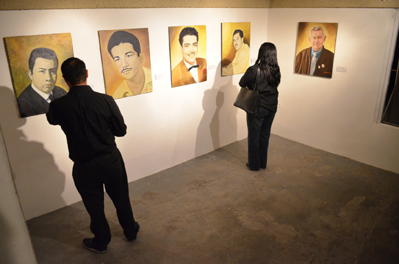 Visitors enjoy 'Homage to the Pioneer Voices of Mexicali' | Photo: Courtesy of Amy Sanchez.